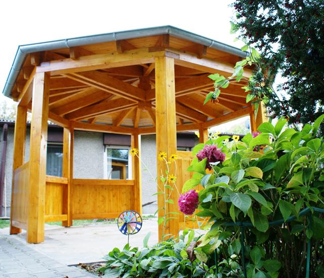 bilder pavillon foto galerie pavillon von novum carport. Black Bedroom Furniture Sets. Home Design Ideas